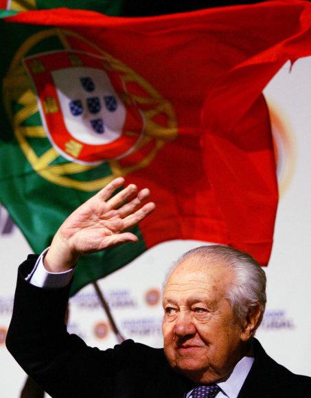 Buvęs Portugalijos prezidentas Mario Soaresas