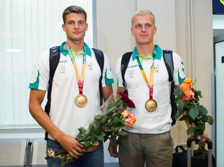 Saulius Ritter ir Rolandas Maščinskas