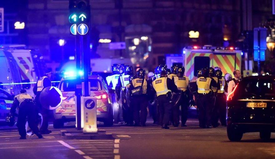Londone mikroautobusas taranavo nekaltus žmones