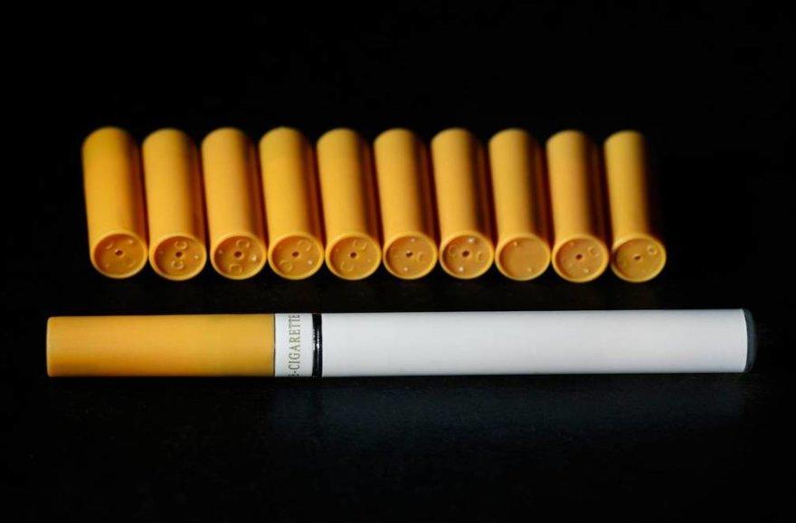 Ar žinote, kaip atrodo elektroninės cigaretės?
