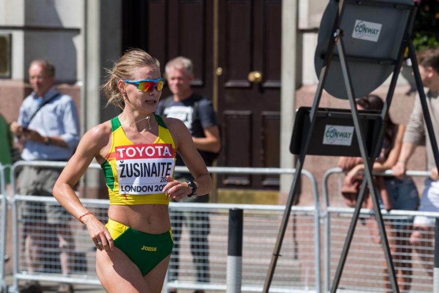 Moterų maratonas Londone