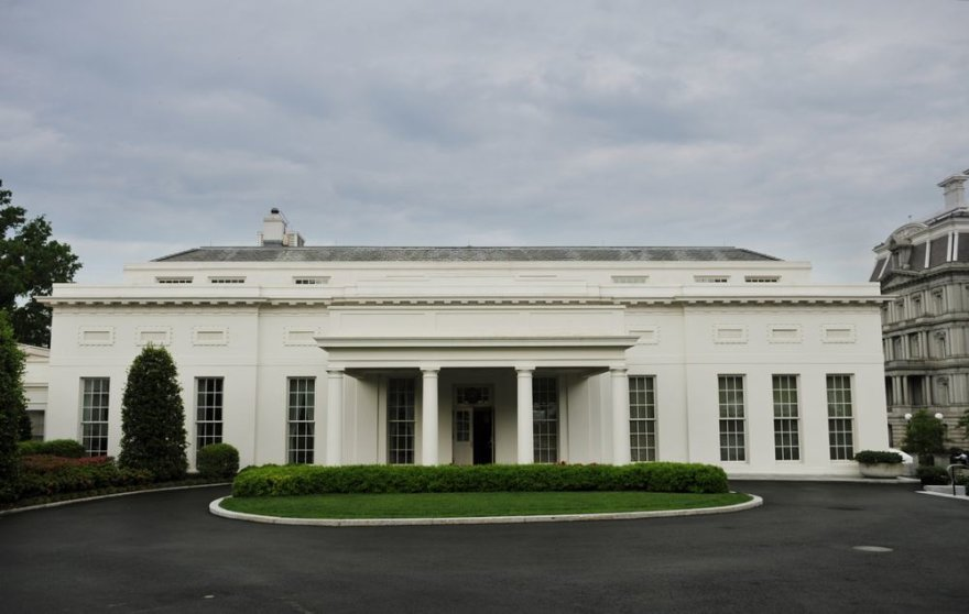 Vakarinis Baltųjų rūmų sparnas