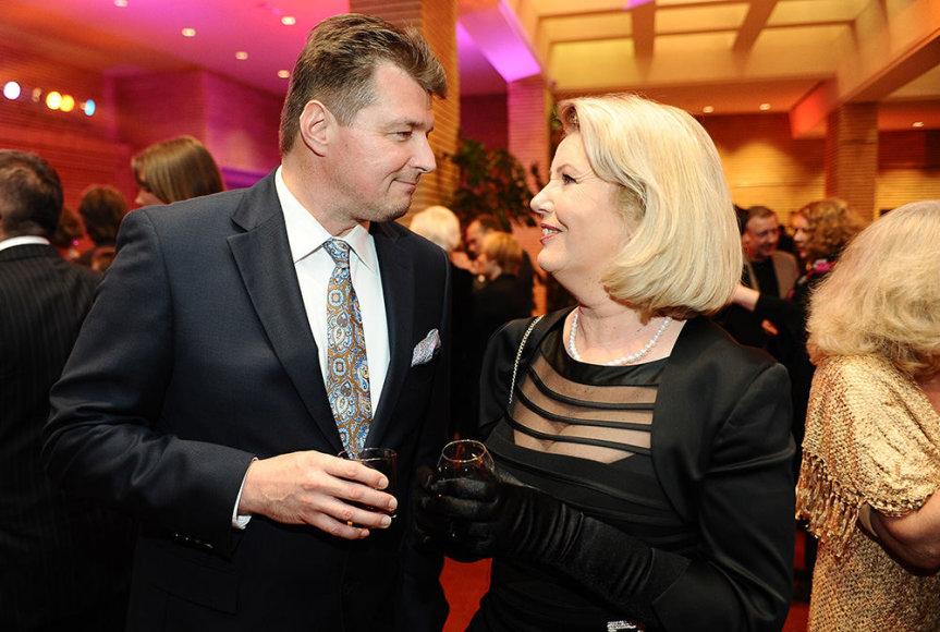 Dalius Mertinas ir Vaiva Mainelytė