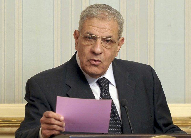 Egipto premjeras Ibrahimas Mehlebas