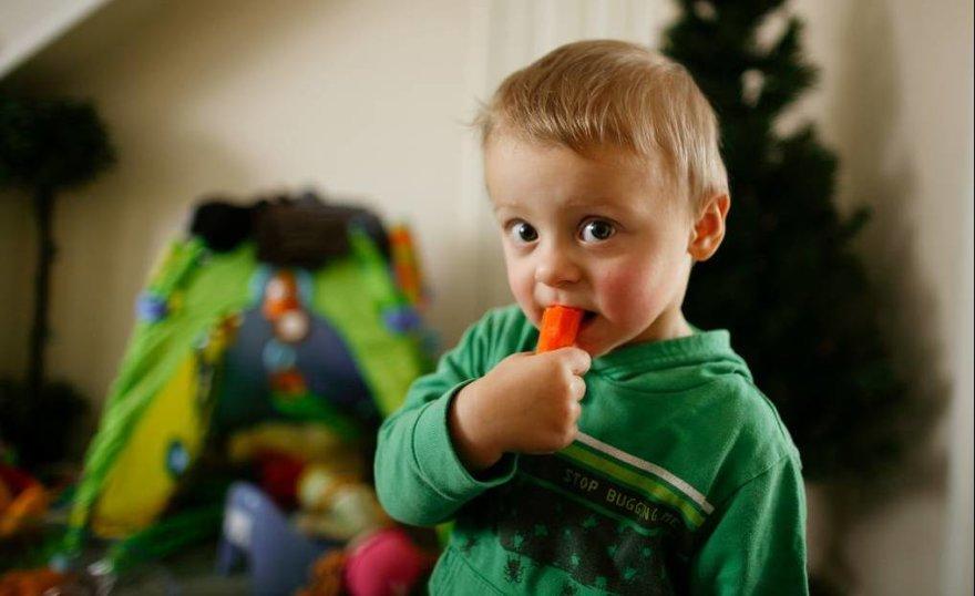 Nuo vaikystės graužiamos morkos, kad akys būtų sveikos
