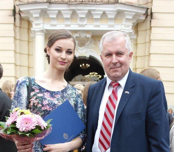 Lina Bulanovaitė ir Arvydas Anušauskas