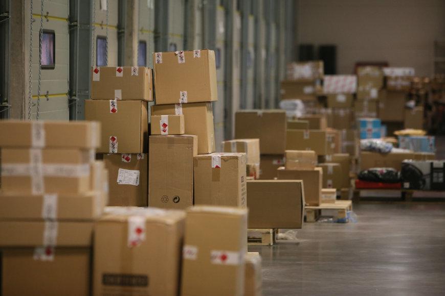 Logistikos centro atidaryme