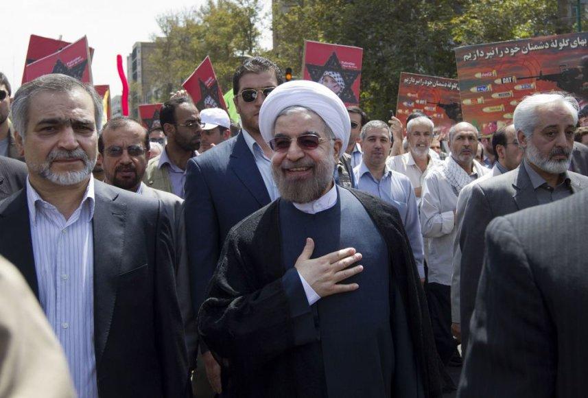 Naujasis Irano prezidentas Hassanas Rouhani