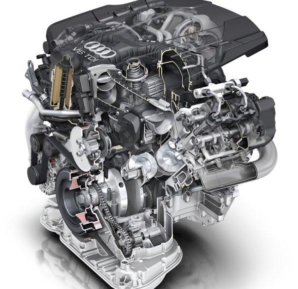 """Naujasis """"Audi"""" 3.0 TDI variklis"""
