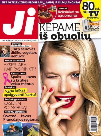 """Spalio mėnesio žurnalas """"JI"""" (Nr. 40)"""