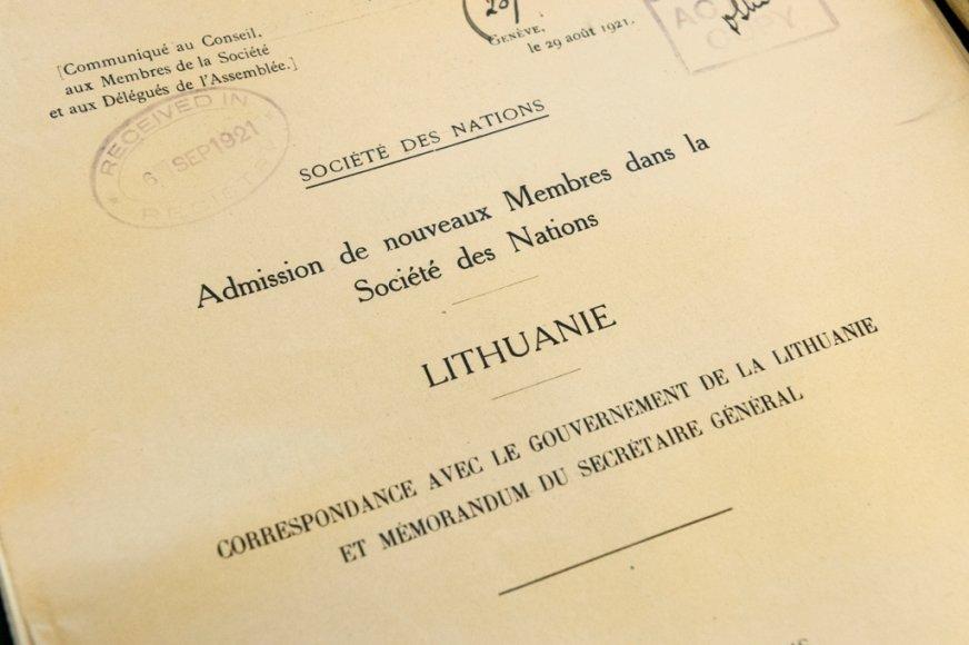 Ženevoje pasirašytas susitarimas dėl istorinių Lietuvai svarbių dokumentų išsaugojimo