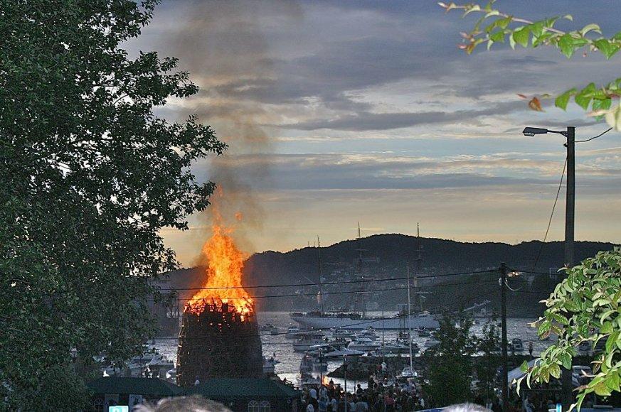 Norvegijos ilgiausios dienos festivalis Bergene