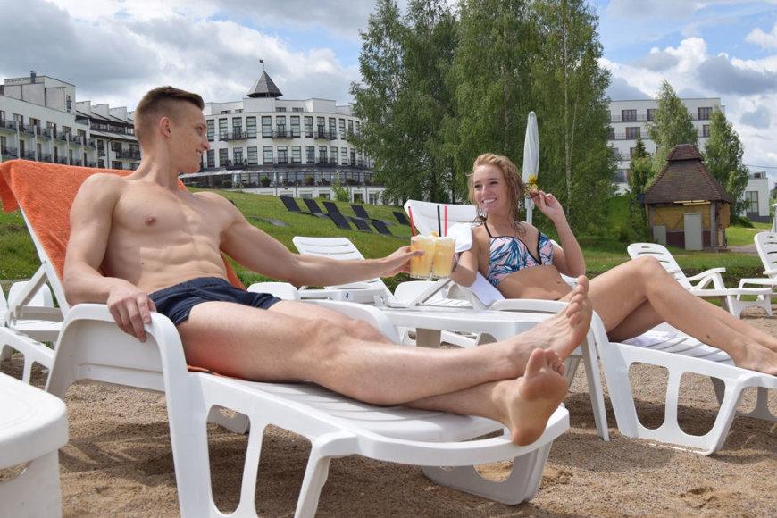Profesionalūs atostogautojai visą vasarą keliavo po Lietuvą ir tikrino poilsiui skirtas vietas