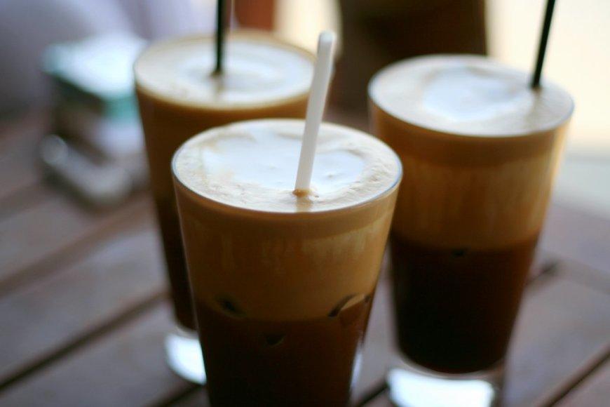 Šaltos kavos receptai