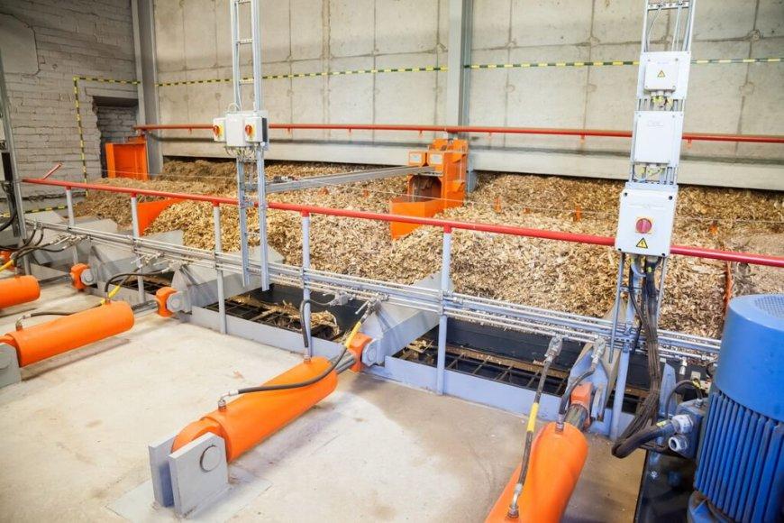 Naujos biokuro katilinės Vilniuje atidarymas