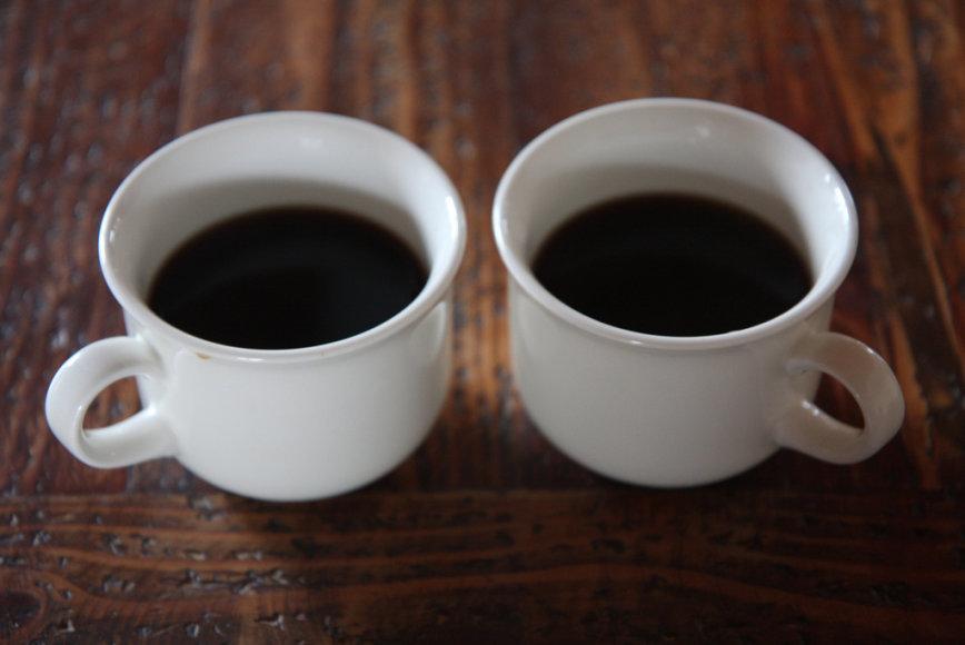 Ar gerti rytais kavą?