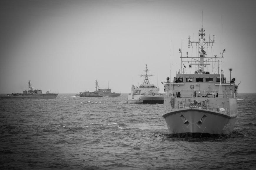 Pratybos Baltijos jūroje