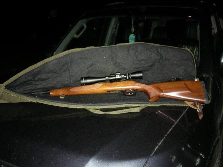 Konfiskuotas ginklas
