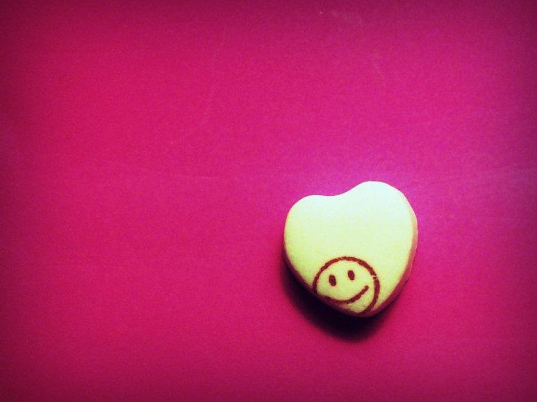 Šypsena padeda širdžiai