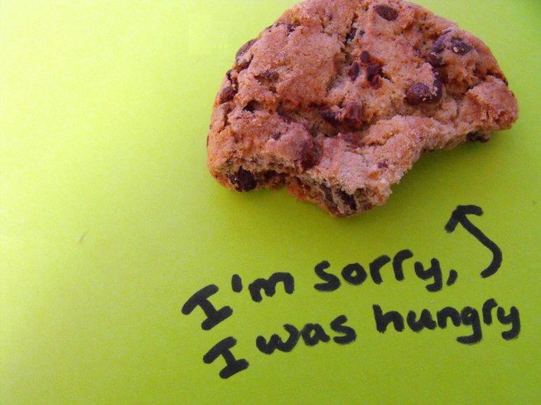 Atsiprašau, aš buvau alkanas
