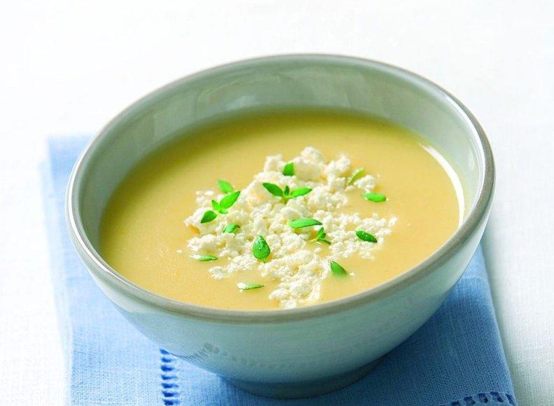 Trinta bulvių sriuba su sūriu