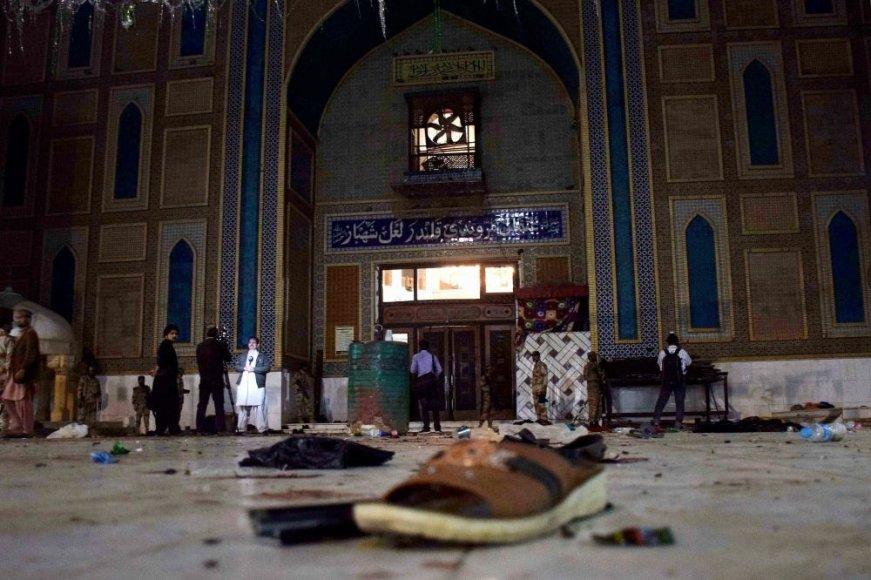 Pakistaną sukrėtė teroristinis išpuolis