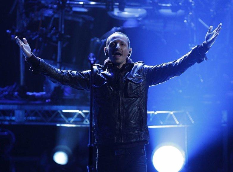 "Chesteris Benningtonas iš ""Linkin Park"""