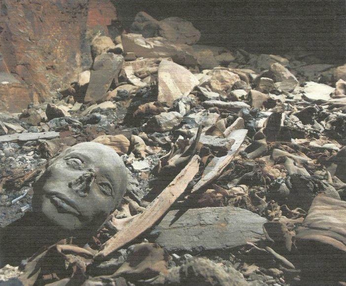 Egipto Karalių slėnyje rastos mumijos