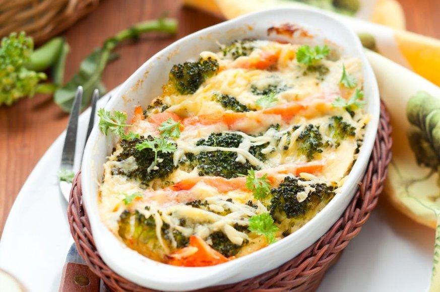 Apkepas su brokoliais