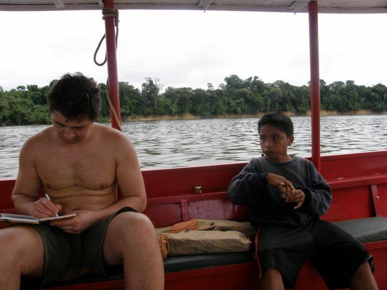 Ekspedicijos į janomamų gentį akimirkos