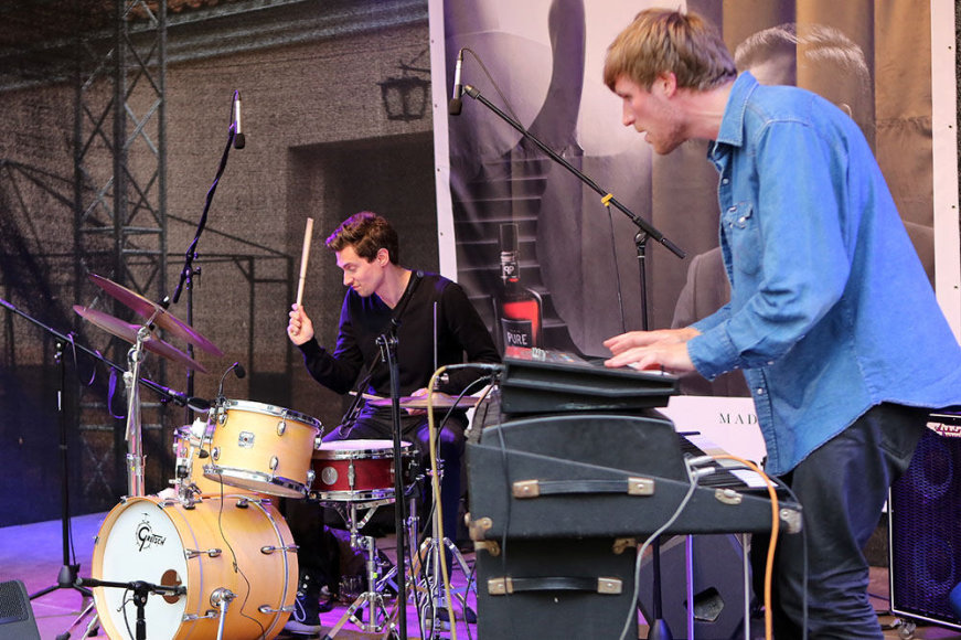 """Pasborg´s Odessa Trio"" koncerto Kaune akimirka."