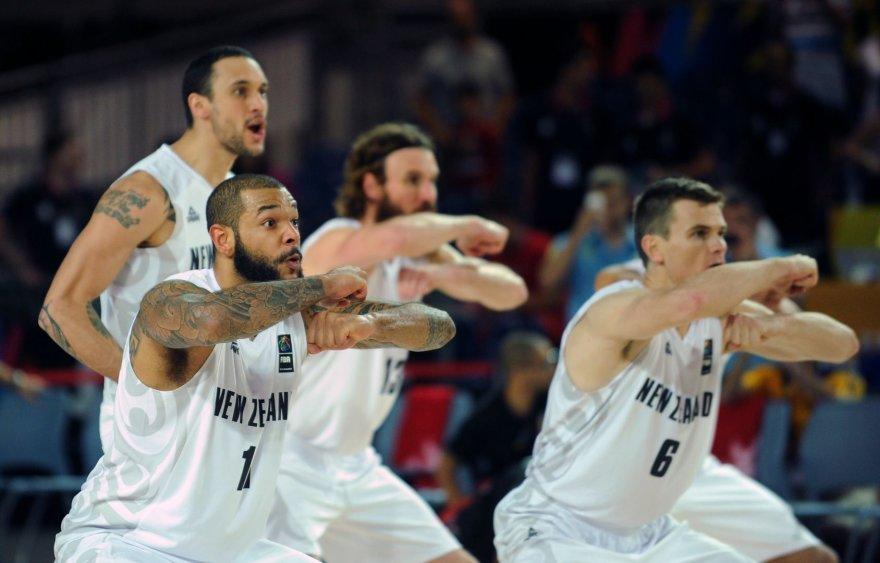 Naujosios Zelandijos krepšinio rinktinė