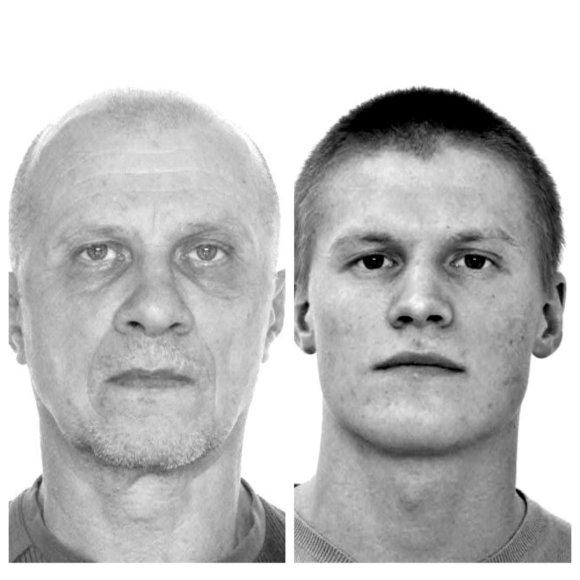 Ieškomas Vaclovas Vaitkevičius (kairėje) ir Denas Vaitkevičius