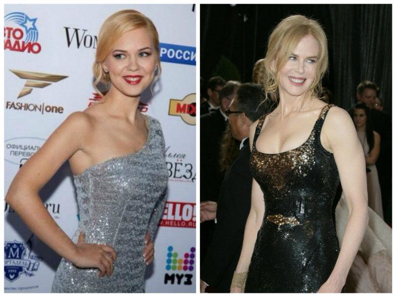 Monika Linkytė ir Nicole Kidman