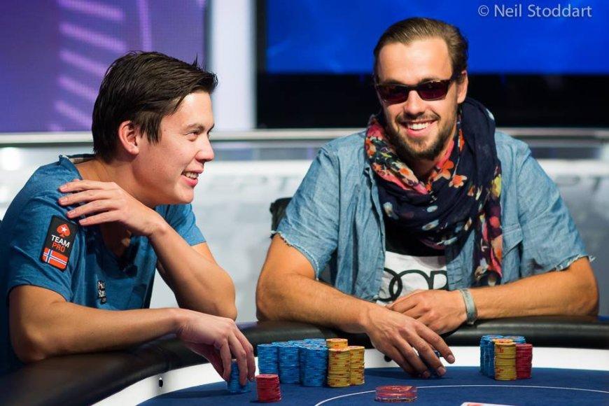 Johnny Loddenas (kairėje) ir Ole Schemionas