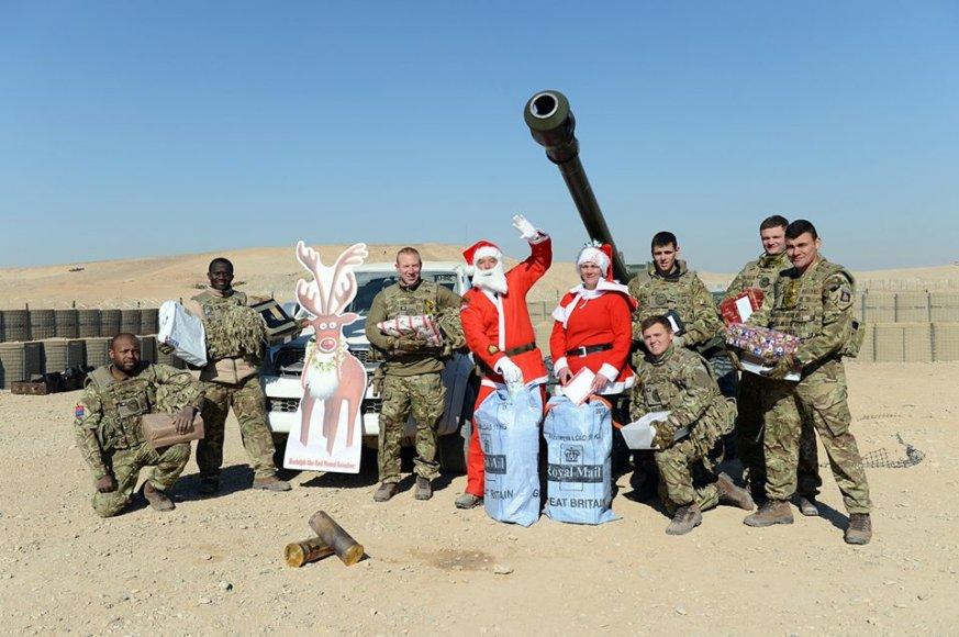 Britų karių Kalėdos Afganistane