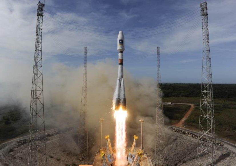 """""""Galileo"""" palydovo iškėlimas"""