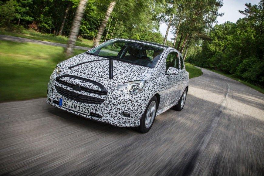 "Naujasis ""Opel Corsa"""