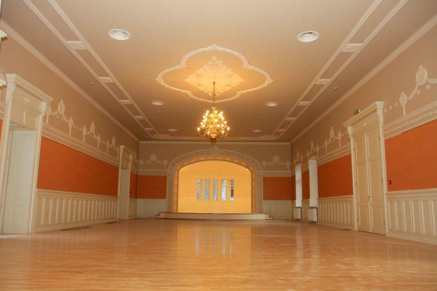 Publikai atsivers išdabinta didžioji kurhauzo salė.