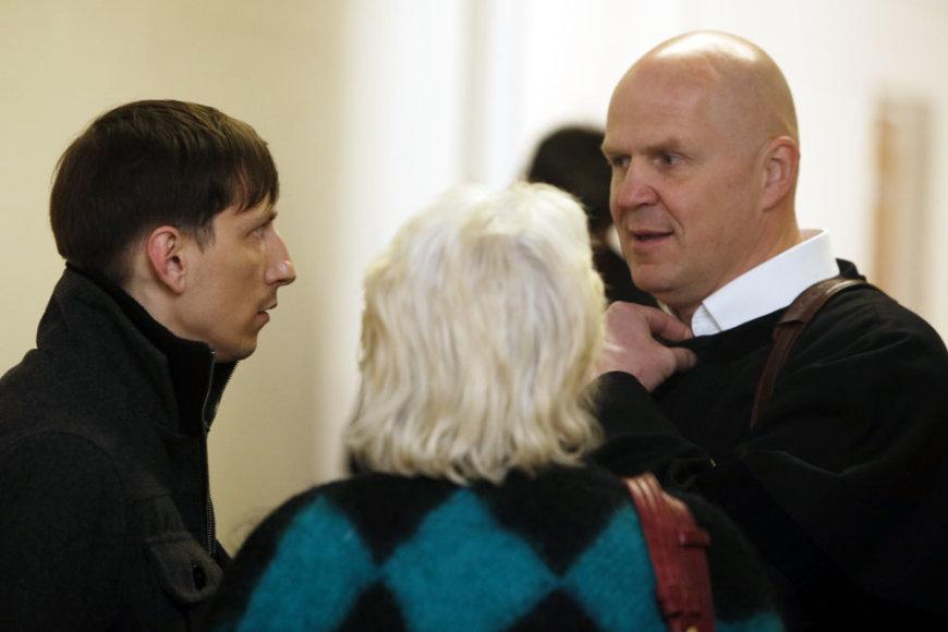 Raimondas Vanagas su advokatu