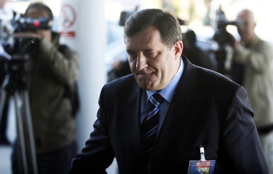 Bosnijos Serbų Respublikos prezidentas Miloradas Dodikas