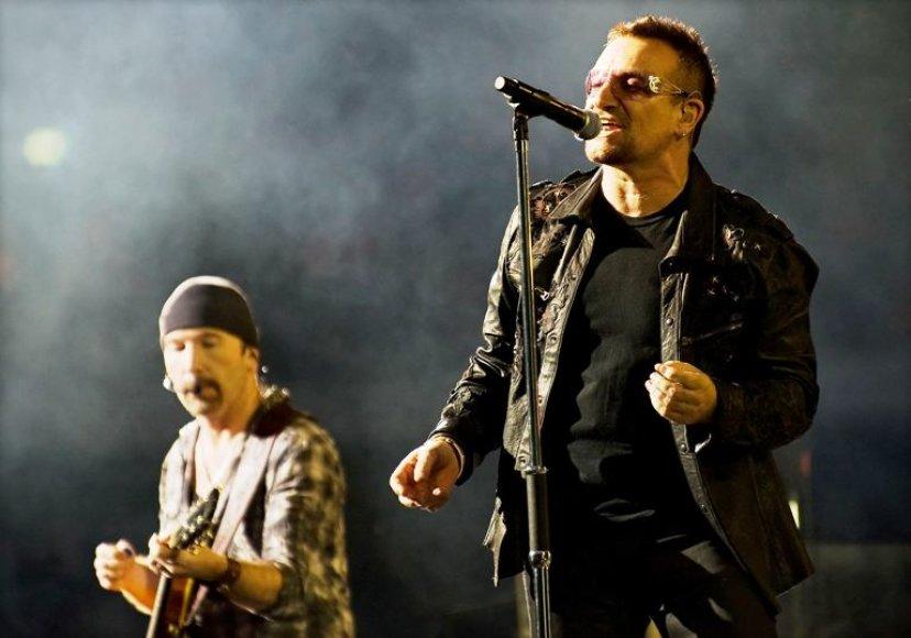 """Airių rokeriai """"U2"""""""