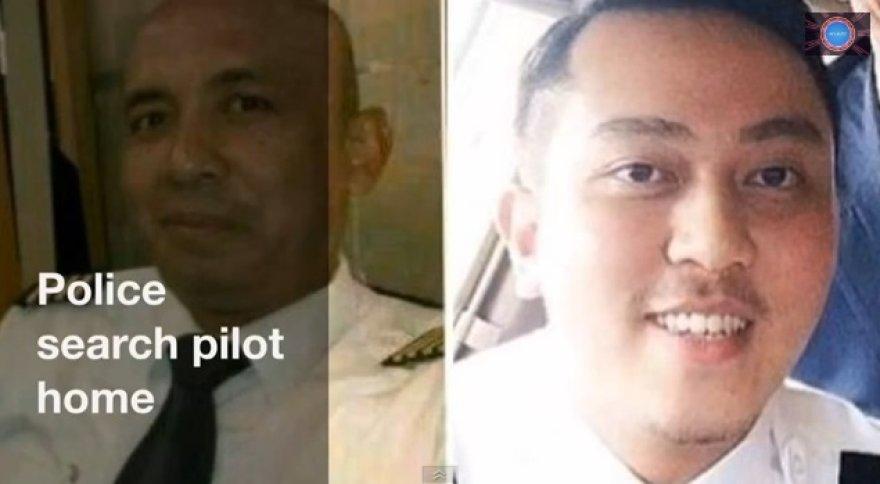 Dingusio Malaizijos lėktuvo pilotai