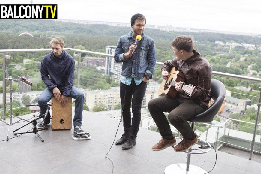 """Vaidas Baumila projekte """"Balcony TV Kaunas"""""""