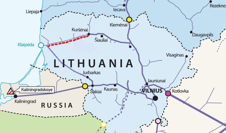 Klaipėda-Kuršėnai dujotiekis