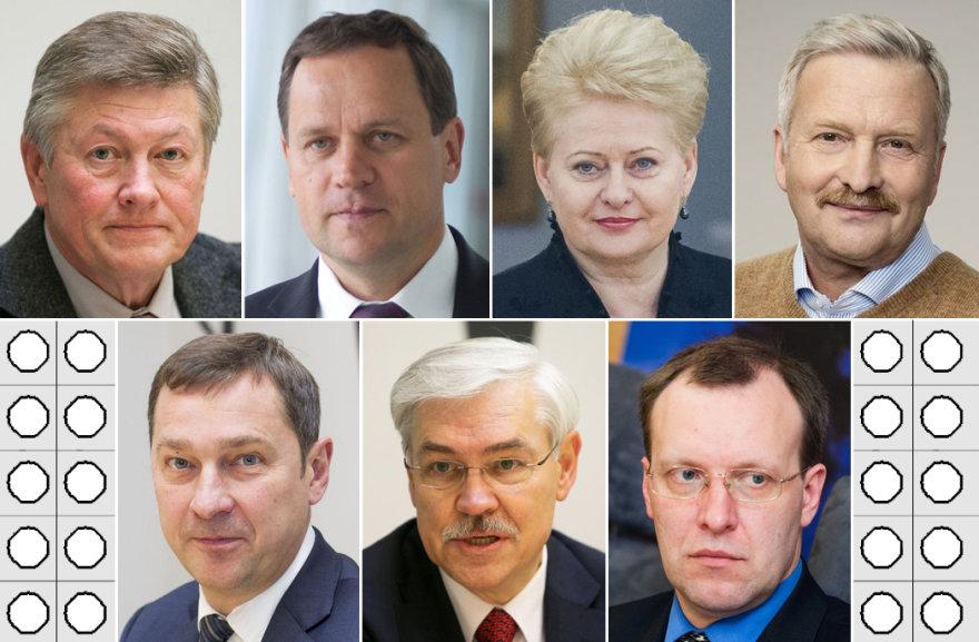 Kandidatai į Lietuvos prezidentus