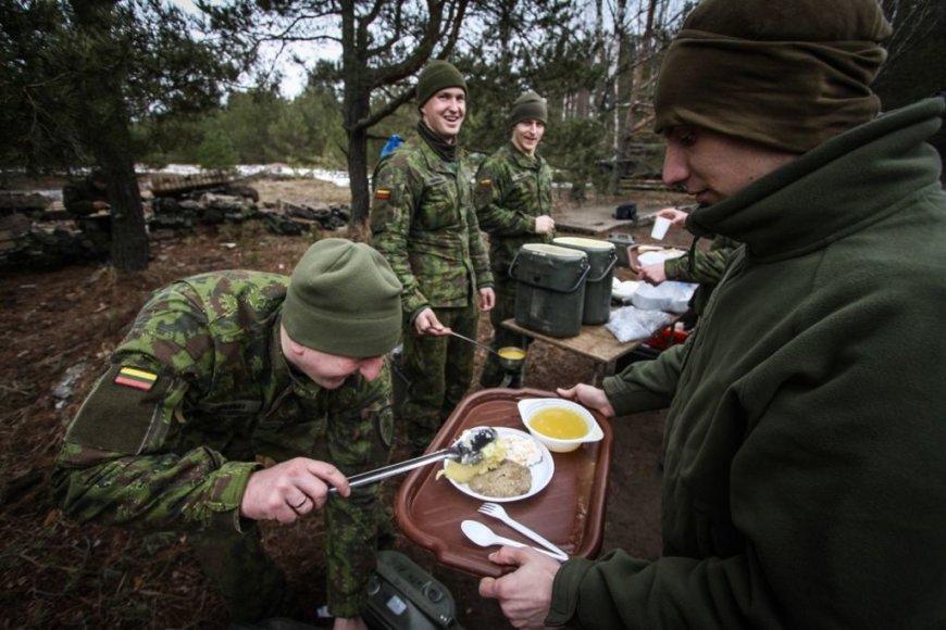 Lietuvos karių maistas