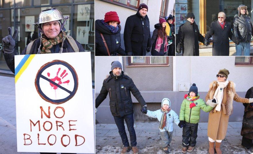 """Nepolitinė pilietinė iniciatyva """"Ištiesk ranką Ukrainai"""""""