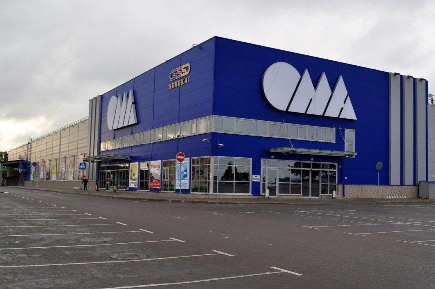 """""""Oma"""" parduotuvė Baltarusijoje"""