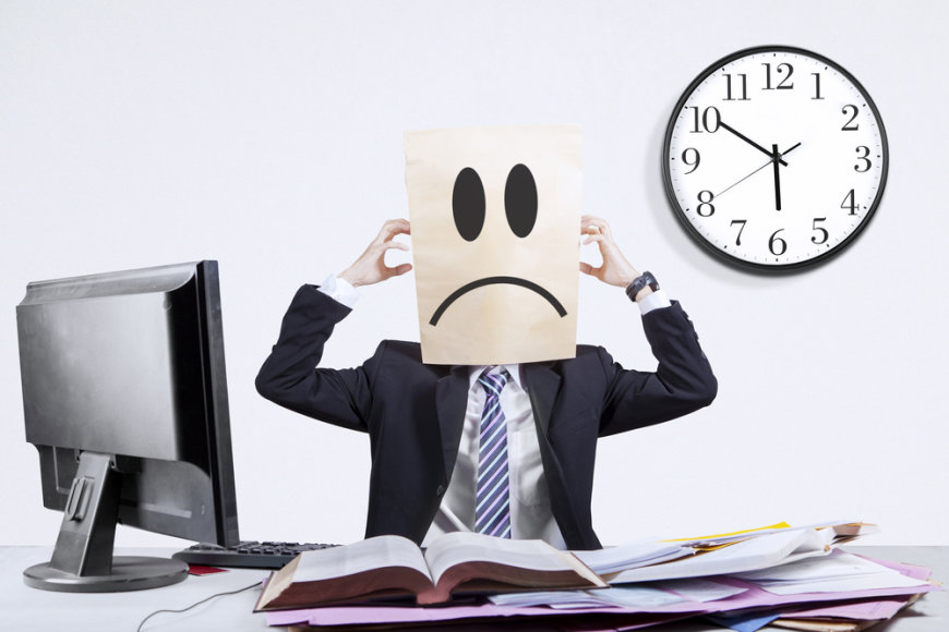 Bloga nuotaika darbe